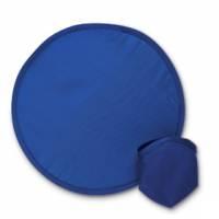 Летающая тарелка — фрисби, складная, синяя