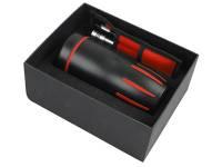 Набор для автомобилиста: кружка с термоизоляцией на 450 мл, приспособление для измерения давления в
