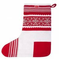 Носок для подарков Snow, красный