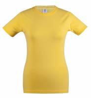 Футболка женская Unit Stretch 190 желтая, размер M