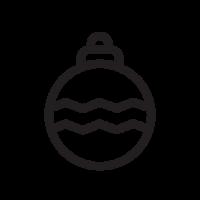 Набор новогодних шаров D=6,5 см
