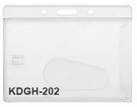 Держатель из жесткого пластика горизонтальный, для карт толщиной до 0,8мм.