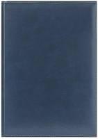 Ежедневник недатированный  PORTLAND 650U (5451) 145x205 мм синий, посеребренный срез