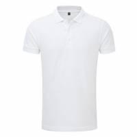 Рубашка-поло, МУЖСКАЯ, 250 гр. 100% ПЭ touch cotton, ВЯЗАНЫЙ ВОРОТНИК, 48 (M)