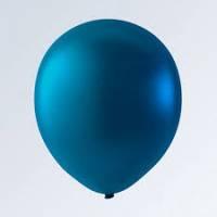 Воздушный шар для нанесения, синий металлик