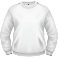СВИТШОТ МУЖСКОЙ ФУТЕР,300, белый, M-301_50 (L)