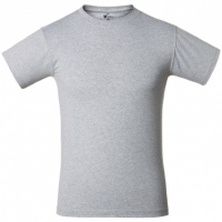 Футболка T-Bolka 160, серый меланж, размер L