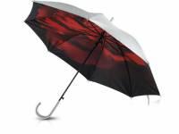 Зонт-трость «Роза» полуавтоматический двухслойный