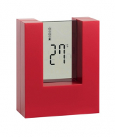 Настольные часы Nester, красные
