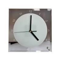 Стеклянные часы квадратные BL-14 200x200мм с циферблатом