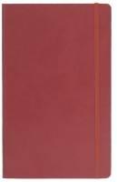 СПЕЦЦЕНА 380 р. Записная книга Portobello (линейка), PORTLAND FLEX, 13*21cм, красный